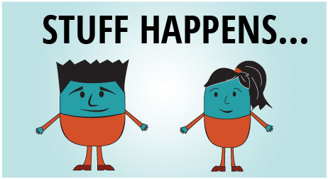 Stuff happens promotion